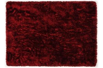 THEKO Teppich Flokato, UNI, rot 60cm x 90cm