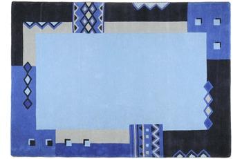 THEKO Teppich Florida, 3193, blau 200cm oktogonal