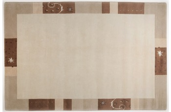 THEKO Teppich Ganges, 991, beige 70cm x 620cm