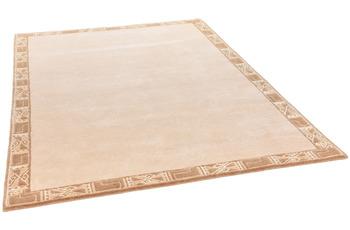THEKO Nepalteppich Gurkha Seta MK118 beige 160 x 230 cm