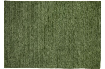 THEKO Teppich Haltu UNI 301 grün 70 x 140 cm