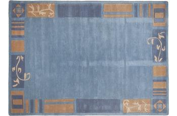 THEKO Teppich Hawaii FE-7098 700 blau 290 x 390 cm