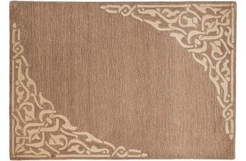 THEKO Teppich Hawaii FE-8101 506 hellbraun 60 x 90 cm