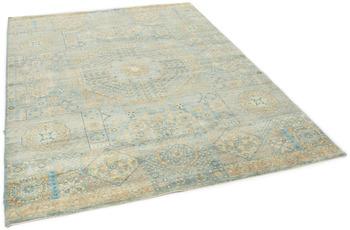 THEKO Orientteppich Hindustan Super Afgahn 4536 blue multi 170 x 240 cm