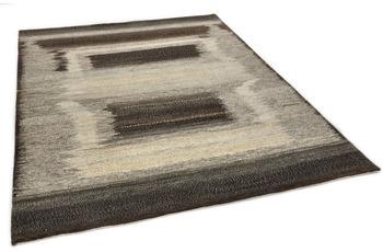 THEKO Orientteppich Hindustan Super Afgahn 4590 white /  black 170 x 240 cm