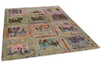 THEKO Orientteppich Hindustan Super Oxid 6019 multicolor 170 x 240 cm