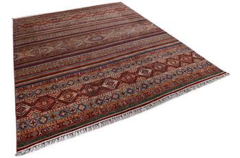 THEKO Orientteppich Kandashah 0011 red/ blue 249 x 304 cm