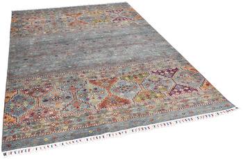 THEKO Orientteppich Kandashah 0089 blue multi 165 x 243 cm