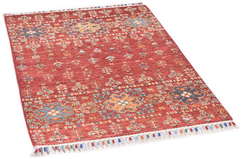 THEKO Orientteppich Kandashah 0232 red multi 80 x 116 cm