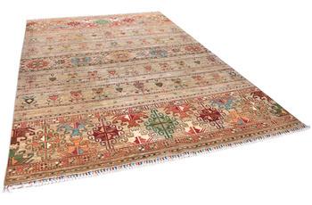 THEKO Orientteppich Kandashah 0312 natural multi 209 x 298 cm