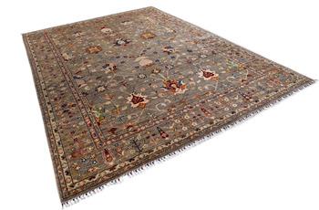 THEKO Orientteppich Kandashah 0430 natural multi 277 x 372 cm