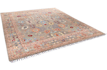 THEKO Orientteppich Kandashah 0469 natural multi 241 x 295 cm