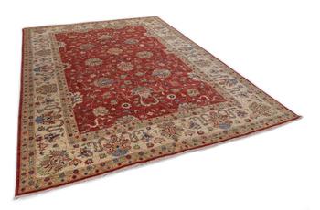 THEKO Orientteppich Kandashah 1217 red /  cream 204 x 295 cm