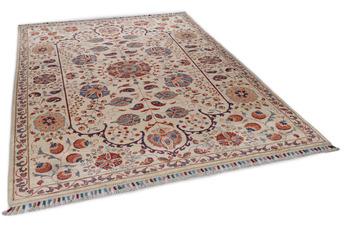 THEKO Orientteppich Kandashah 1226 beige /  beige 159 x 233 cm