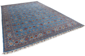THEKO Orientteppich Kandashah 1364 blue multi 270 x 394 cm