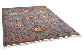 THEKO Orientteppich Kandashah 2592 anthracite multi 176 x 244 cm