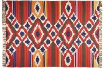 THEKO Teppich Kelim Royal, RO-12-6093, rot