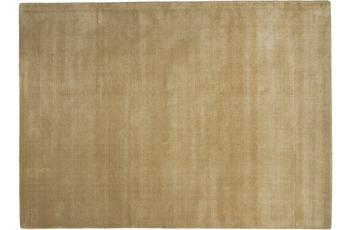 THEKO Teppich Melbourne1000, UNI, beige 67cm x 135cm