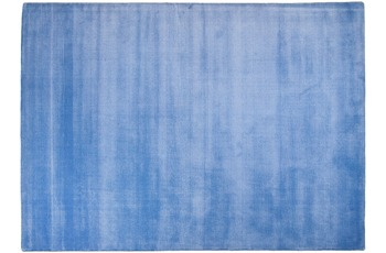 THEKO Teppich Melbourne1000, UNI, blau 67cm x 135cm