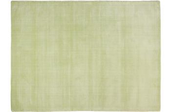THEKO Teppich Melbourne1000, UNI, grün 67cm x 135cm