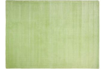 THEKO Teppich Melbourne1000, UNI, olive 67cm x 135cm