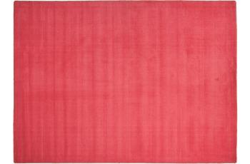 THEKO Teppich Melbourne1000, UNI, rot 67cm x 135cm