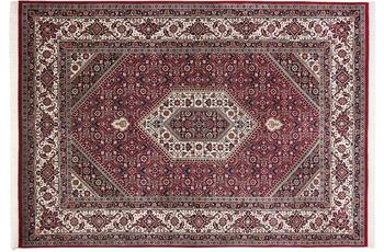 THEKO Teppich Meraj Silk touch Bidjar Cl. 562 rot /  creme 90 x 160 cm