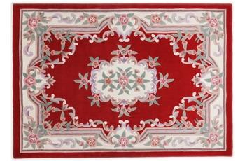 THEKO Teppich Ming, Aubusson 501, rot 190cm x 290cm oval