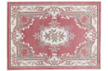THEKO Teppich Ming, Aubusson 501, rose 190cm x 290cm