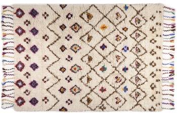 THEKO Beni Ourain, Nomadic-Design 550 beige 70 x 140 cm