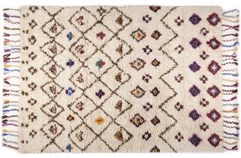 THEKO Handwebteppich Beni Ourain, Nomadic-Design, beige