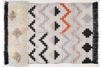 THEKO Handwebteppich Beni Ourain, Nomadic-Design, multicolor 140cm x 200cm