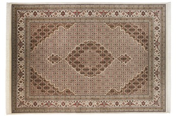 THEKO Teppich Sirsa Mahi Silk touch Tabriz Ma 573 creme 90 x 160 cm