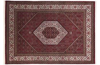 THEKO Teppich Sirsa Seta S Bidjar 562 rot /  creme 70 x 140 cm