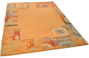 THEKO Nepalteppich Talonga Silk RSK630 terra multi