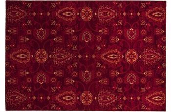 THEKO Teppich Timeless 001 220 bordeaux 80 x 150 cm