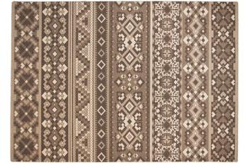 THEKO Teppich Timeless 002 550 beige