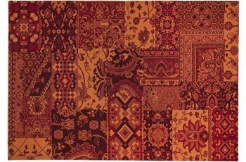 THEKO Teppich Timeless 003 220 bordeaux