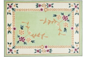 THEKO Teppich Versailles 8068 300 grün 50 x 80 cm