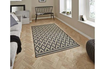 Think Rugs Cottage CT5581 Anthracite/ Sand 160 x 220 cm
