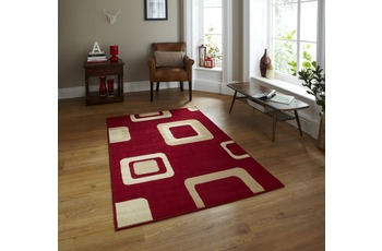 Think Rugs Teppich Diamond 2751 Rot