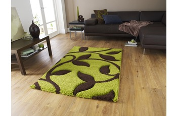 Think Rugs Fashion 7647 Green/ Brown 160 x 220 cm
