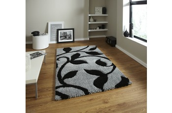 Think Rugs Fashion 7647 Grey/ Black 160 x 220 cm