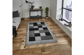 Think Rugs Matrix JR04 Grey 160 x 220 cm
