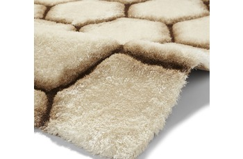 Think Rugs Teppich Noble House NH30782 Cream/ Braun