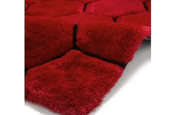 Think Rugs Teppich Noble House NH30782 Rot/ Schwarz