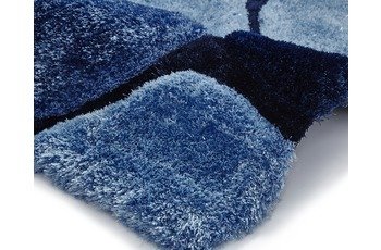 Think Rugs Teppich Noble House NH5858 Blau