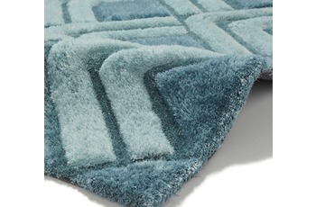 Think Rugs Teppich Noble House NH8199 Blau