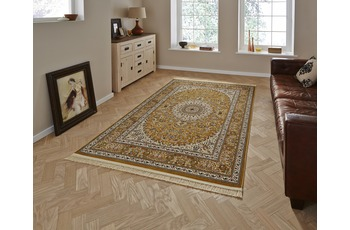 Think Rugs Regal 0227A Gold