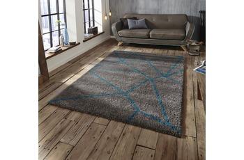 Think Rugs Royal Nomadic 5746 Grau/ Blau
